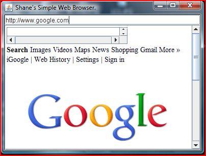 Java Web Browser