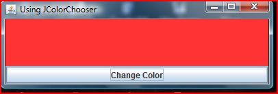 Java Color Chooser