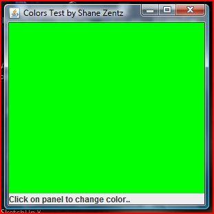 Java Multicolor