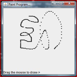 Java Paint Program