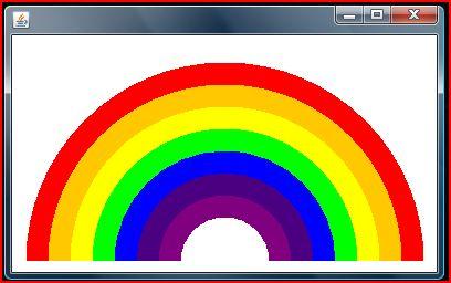 Java Rainbow Program
